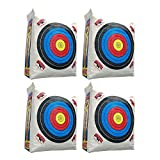 Morrell Weatherproof Supreme Range Archery Bag Target Replacement NASP Field Point Cover w/ 2 Shooting Sides and 4 Shooting Spots, White (Cover Only)