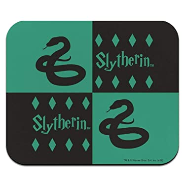 Harry Potter Slytherin Pattern Low Profile Thin Mouse Pad Mousepad