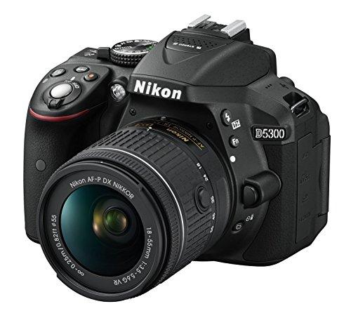 Nikon D5300- Cámara réflex Digital (24.1megapíxeles, NFC, SD 8 GB, 200x Lexar Premium)