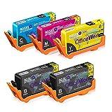 OfficeWorld 903 903L 903XL Alta Capacidad Cartuchos de tinta Reemplazo para HP 903...