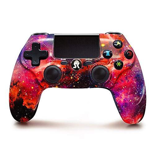 Lioeo Controller per PS4, Wireless, ad alte prestazioni, Doppia Vibrazione Gamepads PS4 Joystick Bluetooth per la Console Playstation 4
