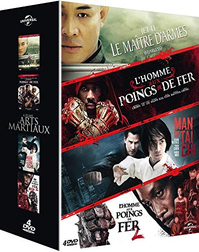 SAME - 4 films d'arts martiaux : Le maître d'armes + L'homme aux poings de fer + Man of Tai Chi + L'homme aux poings de fer 2 (4 DVD)