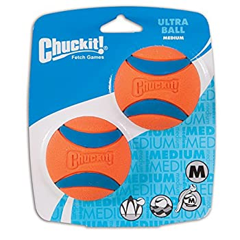 Chuckit! Ultra Balls Taille Moyenne- Lot de 2