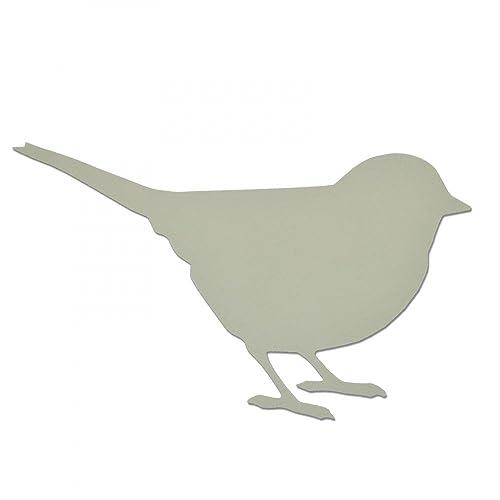 Sizzix 661712 Bigz Die Petit oiseau Bois/Acier/Plastique Multicolore 17.39 x 14 x 1.9 cm