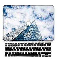 FULY-CASE プラスチックウルトラスリムライトハードシェルケース対応のある最新のMacBook Air 13インチRetinaディスプレイタッチIDUSキーボードカバー A1932 (スカイシリーズ 0517)
