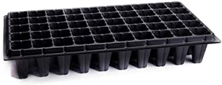 Bestonzon 4pcs Seed Starter Tray 50 Cells Gardening Germination Tray Seed Tray for Seedling Propagation Germination Plugs ...