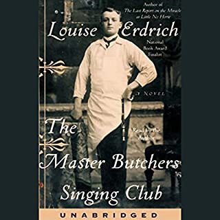 The Master Butcher's Singing Club audiobook cover art