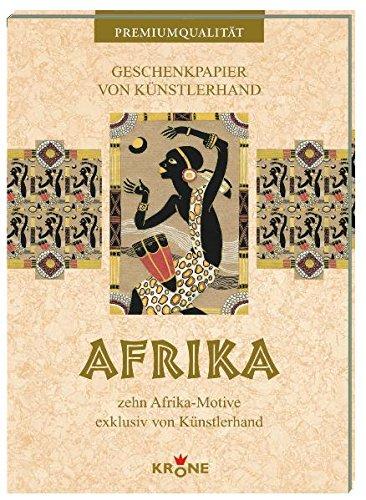 Geschenkpapier Afrika: zehn Afrika-Motive exklusiv von Künstlerhand