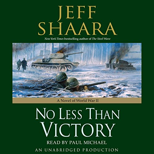 No Less Than Victory audiobook cover art