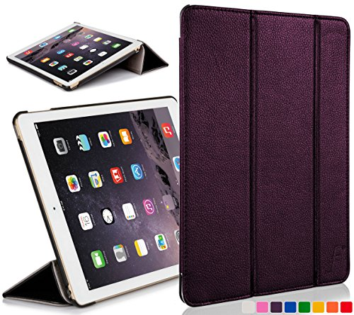 FOREFRONT CASES Cover for Apple iPad Mini A1432 Folding Case Cover Stand - Slim Light, Full Device Protection & Smart Auto Sleep Wake - Purple