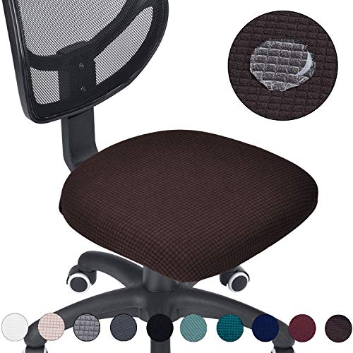 Office Chair Covers - Water Repellent,Easy to Install,High Stretch - Office Chair Seat Slipcover/Protector/Shield for Dog Cat Pets,Chocolate