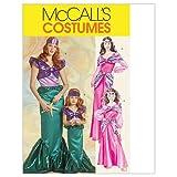 Mc Call´s Schnittmuster 5498 Miss Kostüm Prinzessin & Meerjungfrau Gr. S-M-L-XL