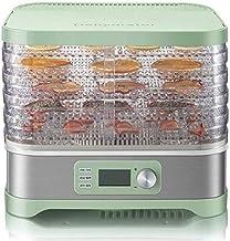 Facile à nettoyer 5 fois mini électrique Dried Fruit sèche-linge numérique avec minuterie et contrôle de la température, f...