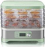 / hierba / 5 controles de temperatura y temporizador frutas/verduras/frutas de carne son simples y limpias y secas para secadora eléctrica Toreimini digital para las semillas, libre d.