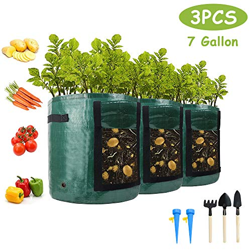 Aonokoy Potato Grow Bags, 3-Pack...