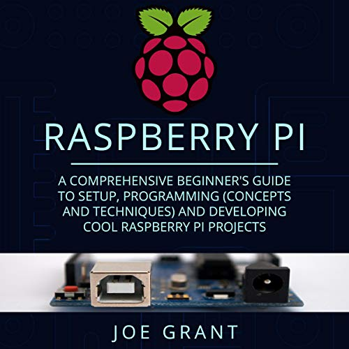 Raspberry Pi: A Comprehensive Beginner's Guide to Setup, Programming (Concepts and Techniques) and Developing Cool Raspberry Pi Projects cover art