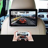リアエンターテイメントシステム容量性タッチスクリーン10.1インチの2パックアウディ、ボルボ、BMW、メルセデス・ベンツや他のモデルに適しWIFIと外部のAndroidヘッドレストDVD HDタッチ車のテレビ