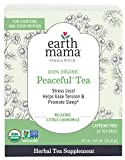 Earth Mama Organic Peaceful Tea Bags for Pregnancy and Beyond, Stress Less, 16 Count