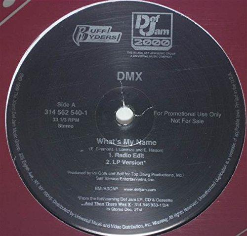 DMX - What's My Name - Def Jam Recordings