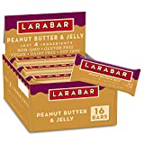 Larabar Fruit and Nut Bar, Peanut Butter and Jelly, Gluten Free, Vegan, 16 ct