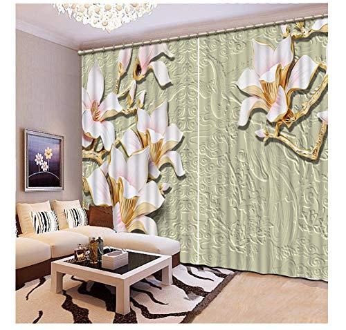 cortinas salon lujo