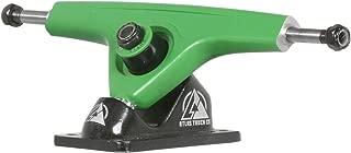 Atlas 180mm 8mm 48 Degree Ultralight Longboard Trucks - Bright Green/Black