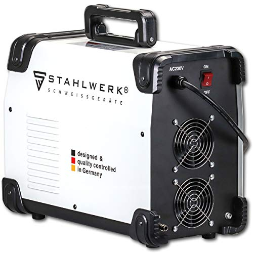 STAHLWERK AC/DC TIG 200 ST IGBT - Poste à souder combiné avec TIG & MMA; 200 A, soudage de l'aluminium, garantie du fabricant de 7 ans