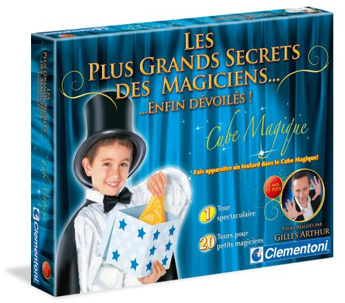 Clementoni-62098-Jeu de société pour enfants-les plus grands secrets-Cube magique (Débutant)