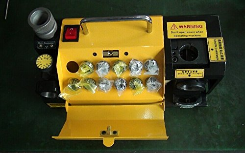 Gowe Portable drill bit grinder, Sharpener grinder, small drill bit sharpening machines ,precision drill bit grinder Ø3-13, yellow or red by Gowegroup Multitools