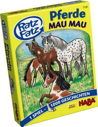 HABA 7128 - Ratz Fatz Pferde-Mau Mau, Kartenspiel