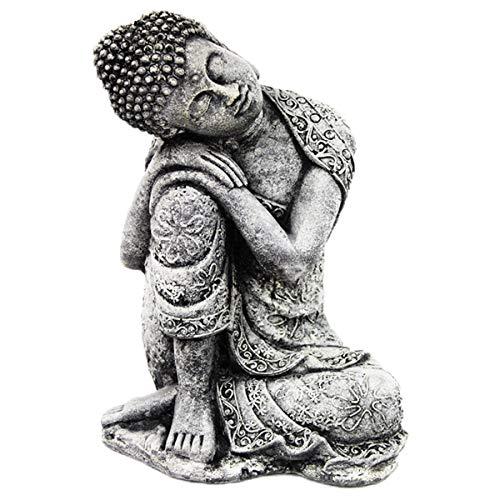 Thai Buddha Statue Home and Garden Yoga Decor Concrete Statuary Asian Collection