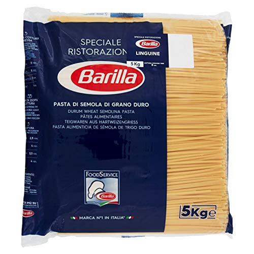 Barilla Pasta N13 Linguine 5 Kg, Bavette, 5000 Grammo