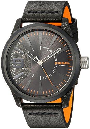 Diesel Reloj Analogico para Hombre de Cuarzo con Correa en Cuero DZ1845