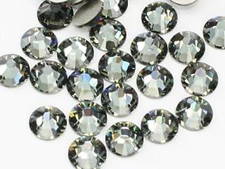 2058ブラックダイヤモンドss30(100粒入り)スワロフスキーラインストーン(nohotfix)