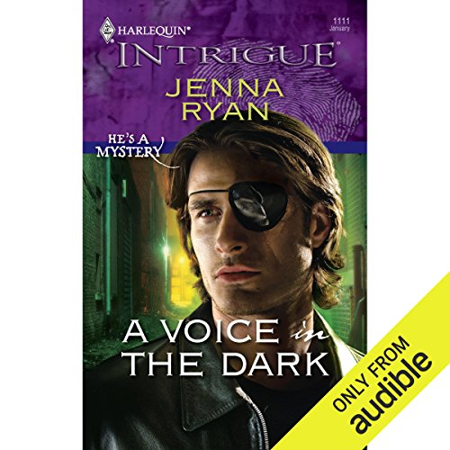 A Voice in the Dark audiobook cover art