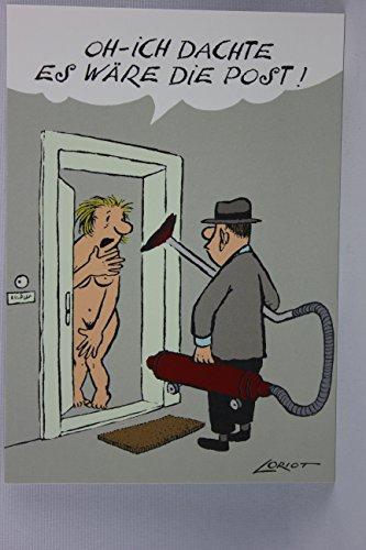 Postkarte A6 • 018 ''Ich dachte'' von Inkognito • Künstler: LORIOT DESIGN GMBH © Loriot • Satire
