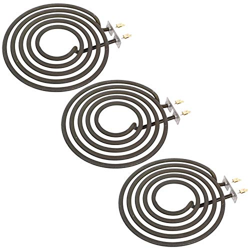 SPARES2GO Hotplate Ring Element 1800W for Creda Cooker Hob Oven (Pack of 3)