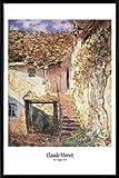 1art1 Claude Monet Poster und Kunststoff-Rahmen - Die