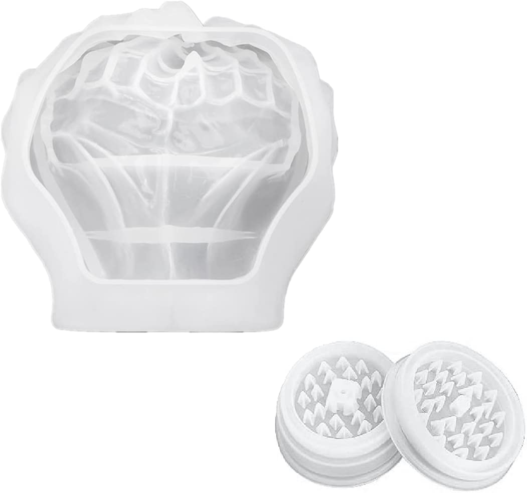 Max 53% OFF Runtodo Resin Ashtray Molds with Shape Ashtra National products Large Grinder Hand