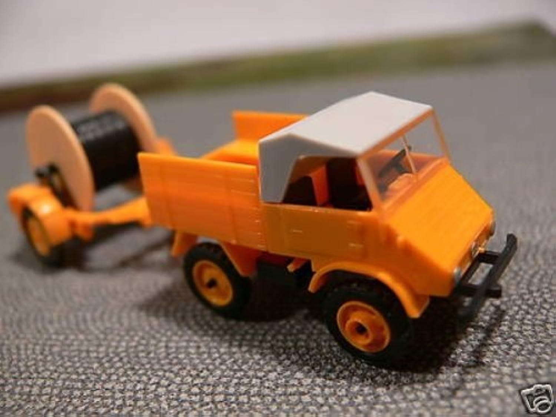 1 87 Epoche Unimog mit Kabelleger 20424 B00KADEKNA Schenken Sie Ihrem Kind eine glückliche Kindheit  | Spielzeug mit kindlichen Herzen herstellen