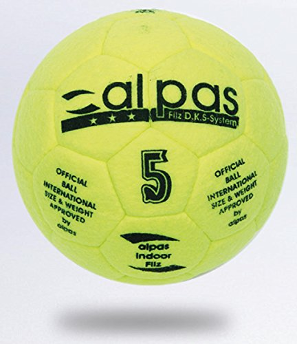 alpas Hallenball / Indoor Fussball Filz Gr. 4 od. 5