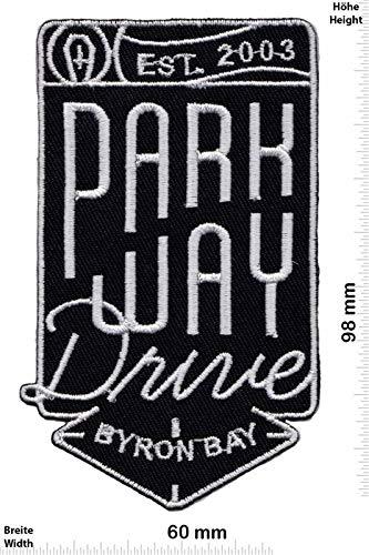 SigitasTrading Parkway Drive Metalcore Band Aufnäher Besticktes Patch zum Aufbügeln Applique