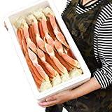 ズワイガニ 脚 総重量2kg(足 ずわいがに ずわい蟹 ズワイ蟹 zuwaigani かに カニ 蟹)(ボイル加熱済み)(訳あり 訳有 わけあり)