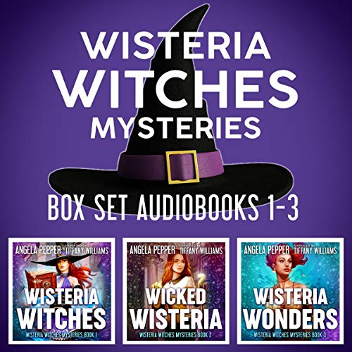 Wisteria Witches Mysteries: Box Set, Books 1-3 cover art
