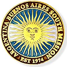 LDS Argentina Buenos Aires South Mission Commemorative Lapel Pin
