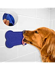 DOGLERON Slow Feeder Dog Lick Mat, Interactive Dog Chew Toy, For Dogs Digestive Health, Dog Bone Design