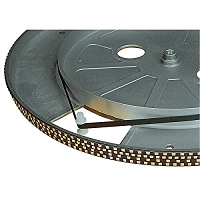 REPLACEMENT DRIVE BELT FOR TURNTABLE 158mm FLAT CROSS-SECTION 5mm WIDE