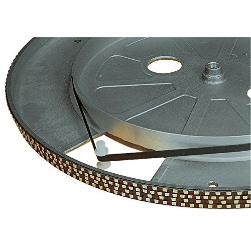 Electrovision V-riem voor platenspeler, zwart, afmetingen: 158 mm