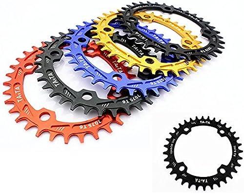 Bazaar Vtt 34t plateau bcd104mm vélo pédalier pédalier pignon chaîne de roue de bicyclette de vitesse d'anneau  approvisionnement direct des fabricants
