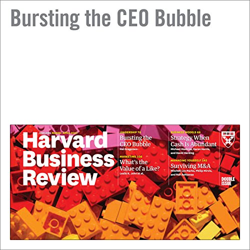 Bursting the CEO Bubble copertina